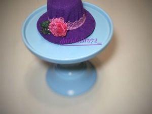 Шьем вместе с детьми игольницу «Шляпка для барышни». Ярмарка Мастеров - ручная работа, handmade.