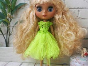 Новые куколки блайз для девочек на 8 марта. Ярмарка Мастеров - ручная работа, handmade.