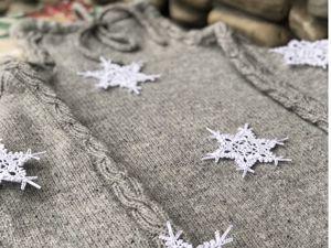 Весенняя Распродажа пряжи! Скидки 15% и 20%! Пуловер от Анны из Софт Донегала. Ярмарка Мастеров - ручная работа, handmade.