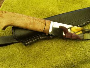 Ножи ручной работы. Сталь К110 и Элмакс. Обзор работ. Ярмарка Мастеров - ручная работа, handmade.