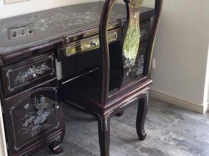 Наш письменный стол со стулом в новом доме!. Ярмарка Мастеров - ручная работа, handmade.