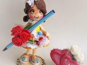 Изготавливаем сувенирную куколку из фоамирана. Ярмарка Мастеров - ручная работа, handmade.