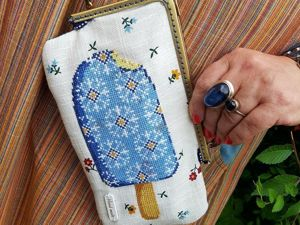 Sewing a Summer Handbag with Ice-Cream. Livemaster - handmade