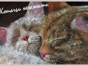 Открытки с котиками — полный набор. Ярмарка Мастеров - ручная работа, handmade.