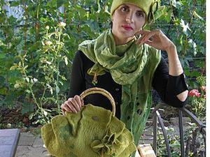 """Мастер-класс: сумка валяная из коллекции """"Тайны Шервудского леса"""". Ярмарка Мастеров - ручная работа, handmade."""