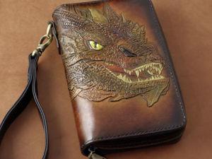 Кожаный клатч или сумка за 100 рублей!!!. Ярмарка Мастеров - ручная работа, handmade.
