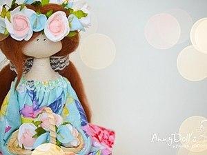 Сидячая куколка (на примере Садовой Берегини). Ярмарка Мастеров - ручная работа, handmade.