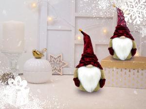 А Вы готовы к праздникам? 100 наборов для создания праздничных гномиков на любой вкус по приятной цене!. Ярмарка Мастеров - ручная работа, handmade.