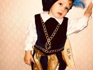 Как сшить камзол для костюма принца. Ярмарка Мастеров - ручная работа, handmade.