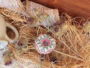 Вышиваем оберег-бискорню «Репейник». Ярмарка Мастеров - ручная работа, handmade.