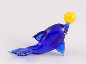 Видео мастер-класс: выплавляем дельфина из стекла. Ярмарка Мастеров - ручная работа, handmade.