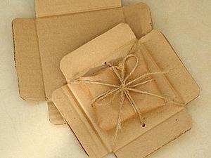 Упаковка для пересылки украшений своими руками. Ярмарка Мастеров - ручная работа, handmade.