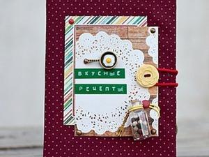 Мастер класс по декорированию блокнота. Ярмарка Мастеров - ручная работа, handmade.
