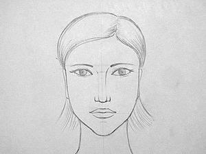 Уроки рисования для начинающих. Рисуем лицо человека. Ярмарка Мастеров - ручная работа, handmade.