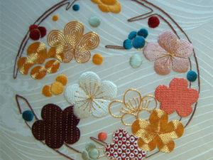 Японская вышивка в Великобритании от Harriet George. Ярмарка Мастеров - ручная работа, handmade.