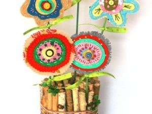 Создаем пасхальную композицию: пенек с декором. Ярмарка Мастеров - ручная работа, handmade.