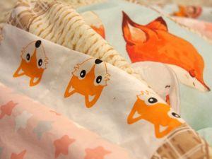 Суперскидка на летнее одеялко для малыша!. Ярмарка Мастеров - ручная работа, handmade.