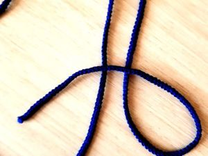 Шнур гусеничка крючком. Ярмарка Мастеров - ручная работа, handmade.
