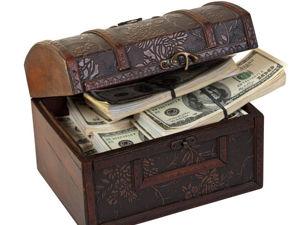 Почему картина из настоящих денег, притягивает богатство?Как  работает любой денежный талисман?. Ярмарка Мастеров - ручная работа, handmade.