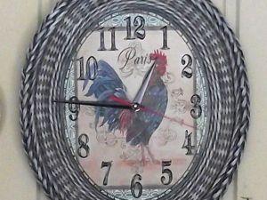 Мастерим часы плетеные «Петух на все времена». Ярмарка Мастеров - ручная работа, handmade.