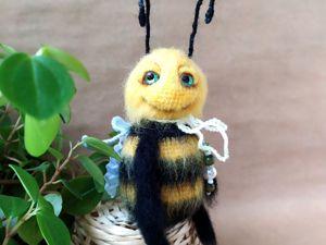 Учимся вязать Пчелку. Ярмарка Мастеров - ручная работа, handmade.