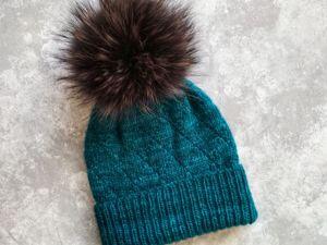 Распродажа 30% на все взрослые зимние шапки. Ярмарка Мастеров - ручная работа, handmade.