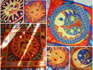 Лоскутное покрывало  «Звезда по имени Солнце» . Ярмарка Мастеров - ручная работа, handmade.