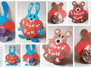 Идея милого и вкусного подарка на День святого Валентина: видеоурок. Ярмарка Мастеров - ручная работа, handmade.