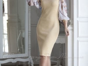 Аукцион на вязаное платье ! Старт 3000 руб.!. Ярмарка Мастеров - ручная работа, handmade.