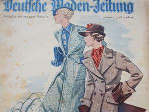 Очень старый немецкий модный журнал -12/ 1935 год. Ярмарка Мастеров - ручная работа, handmade.