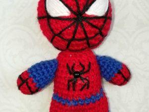 Видео мастер-класс по вязанию человека паука 2 часть. Ярмарка Мастеров - ручная работа, handmade.