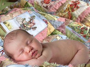 Как сшить одеяло для новорожденной принцессы? Часть 11. Стежка. Ярмарка Мастеров - ручная работа, handmade.