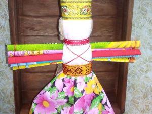 Народная славянская кукла-оберег Десятиручка. Ярмарка Мастеров - ручная работа, handmade.