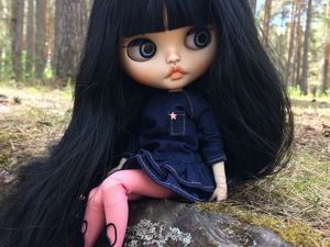 Gia. New Girl. Custom Blythe. Ярмарка Мастеров - ручная работа, handmade.