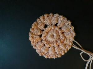 Вяжем крючком мотив «Медальон» в технике ирландское кружево. Ярмарка Мастеров - ручная работа, handmade.