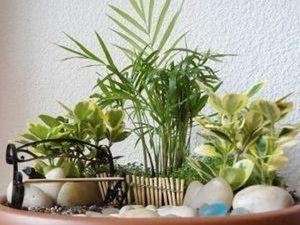 Мини-сад в горшке. Ярмарка Мастеров - ручная работа, handmade.