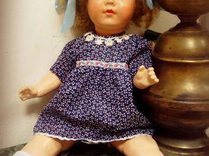 Реставрация куклы Sonnenberg. Часть 2. Ярмарка Мастеров - ручная работа, handmade.