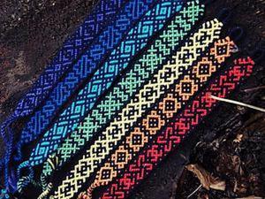 Как перенести цвета из палитры на схему фенечки. Ярмарка Мастеров - ручная работа, handmade.