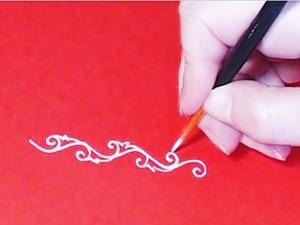 Как нарисовать орнамент, видео, часть 2. Ярмарка Мастеров - ручная работа, handmade.