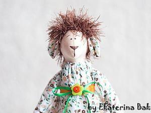 Шьем нарядную Овечку к Новому году. Ярмарка Мастеров - ручная работа, handmade.