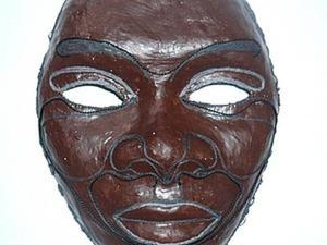 Изготоаление интерьерной маски из подручных материалов. Ярмарка Мастеров - ручная работа, handmade.