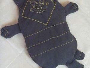 Создаем игрушку-подушку «кОт Енот» +Выкройка. Ярмарка Мастеров - ручная работа, handmade.