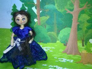 Куколка-цыганочка 8 см. Ярмарка Мастеров - ручная работа, handmade.