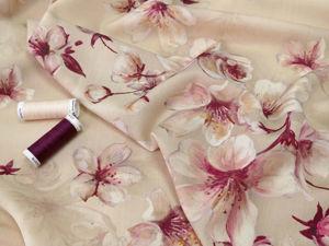 Плательная ткань из 100% виргинской шерсти. Ярмарка Мастеров - ручная работа, handmade.