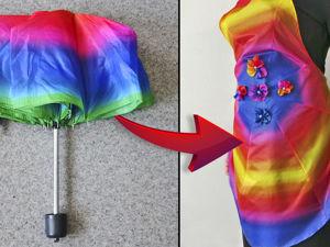 Видео мастер-класс: шьем фартук из старого зонта. Ярмарка Мастеров - ручная работа, handmade.