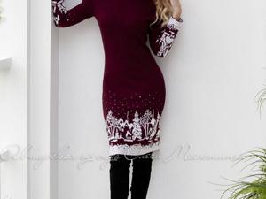 Аукцион на красивое вязаное платье! Старт 3000 руб.!. Ярмарка Мастеров - ручная работа, handmade.