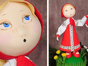 «Ой люли, люли!» Создаем куклу Машеньку из фоамирана. Ярмарка Мастеров - ручная работа, handmade.