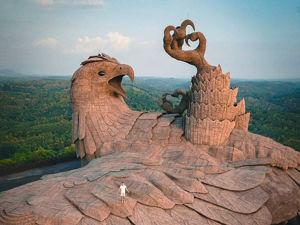 Ястреб Джатаю — самая большая каменная птица в мире. Ярмарка Мастеров - ручная работа, handmade.