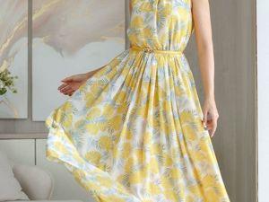 Аукцион на Летнее платье из шифона! Старт 2500 р.!. Ярмарка Мастеров - ручная работа, handmade.