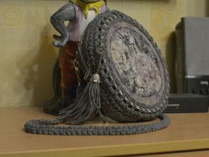 Вяжем сумку своими руками из ниток макраме. Ярмарка Мастеров - ручная работа, handmade.